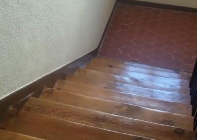 Recuperación de escaleras.